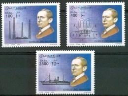 2002 Somalia Marconi Telegrafo Telegraph Inventori Inventors Inventeurs Excellent Quality MNH** - Somalia (1960-...)