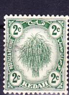 Malaiische Staaten V - Kedah - Reisgarbe (MiNr: 24) 1921 - Gest Used Obl - Kedah
