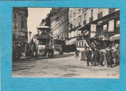 Paris. - Rue D'Amsterdam. - Omnibus. - Arrondissement: 09