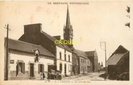 56 Crédin, La Grande Rue, Belle Carte Affranchie 1935 - Sonstige Gemeinden
