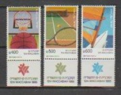 Israel  1985   N°  947 / 49  Neuf XX Avec TAB   Série Complete   SPORT - Israel