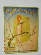 Buvard La Juvenine. Hygiene Medicale De La Femme. Pharmacie Vienne. 13 X 17,5 Cm. Illustration H. Gerbault - Produits Pharmaceutiques