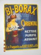 Buvard Bi-Borax Oriental. Nettoie Purifie Assainit. 13 X 17,5 Cm. - Produits Pharmaceutiques