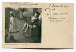 CPA Ligue Contre L'alcoolisme Enfant Dégénéré  1901   VOIR DESCRIPTIF  §§§ - Salute