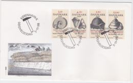 Denmark FDC 1998 Fossil (T3-40) - FDC