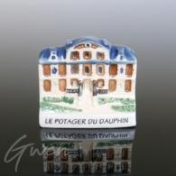 Feve Publicitaire Thomasse Le Potager Du Dauphin Meudon Porcelaine Miniature - Regio's
