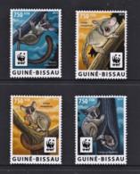 Guinea Bissau 2015 Northern Lesser Galago Set Of 4 MNH   WWF - Nuovi