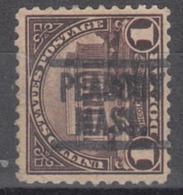 USA Precancel Vorausentwertung Preo, Locals Massachusetts, Pebody 571-549 - United States