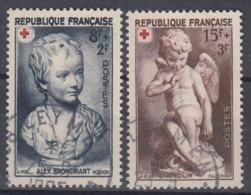 +France 1950. Croix Rouge. Yvert 876-77. Cancelled - France