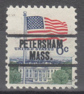 USA Precancel Vorausentwertung Preo, Locals Massachusetts, Petersham 734 - Etats-Unis