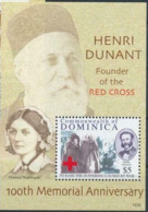 Dominique  Red Cross Croix Rouge  Henry DUNANT Florence NIGHTINGALE  MNH - Nobel Prize Laureates