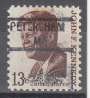 USA Precancel Vorausentwertung Preo, Locals Massachusetts, Petersham 841 - Etats-Unis