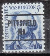 USA Precancel Vorausentwertung Preo, Locals Massachusetts, Pittsfield L-5 TS - Etats-Unis