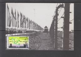 2186 Auschwitz - Libération Des Camps (08-05-1945)  ( VRCF ) - Maximum Cards