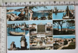 PostCard, Different Viewes Of Calle, Algerie - Algeria