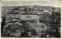 Cp Lisboa Lissabon Portugal, Panoramablick Auf Die Stadt, Straßenbahn - Andere