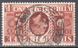 Great Britain 1935 King George V Silver Jubilee - Mi.191z  Wmk Inverted  - Used - 1902-1951 (Koningen)