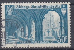 +France 1951. Abbaye. Yvert 888. Cancelled - France