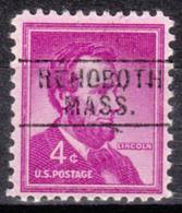 USA Precancel Vorausentwertung Preo, Locals Massachusetts, Rehooth 745 - United States