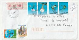 LETTRE Recommandée - MADAGASCAR  Le 24/10/2009 Pour La France - Madagascar (1960-...)