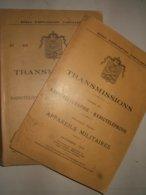 Radiotélégraphie :   Appareils Militaires   1935/1936 - Documents