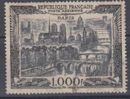 +France 1950. Aerienne: Vue De Paris. Yvert A29. Cancelled - France