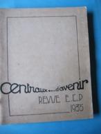 Revue ECP Ecole Centrale De Paris 1935 Saynettes Théâtre, Textes & Dessins Publicité - Arte