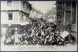 CPA 56 - CMCB 454 - Procession De Notre-Dame Du Roncier (Josselin) - Coutumes, Moeurs Et Costumes Bretons - Josselin