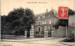 60 - NOAILLES --  Rue De La Gare - Noailles