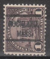 USA Precancel Vorausentwertung Preo, Locals Massachusetts, Rockland 571-513 - United States