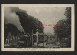 05 L'ARGENTIERE LA BESSEE - La Gare Rapide PARIS BRIANCON - L'Argentiere La Besse