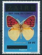 Congo Butterfly Papillon Colotis Zoe MNH - Butterflies