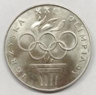 POLONIA POLSKIE  Poland 1976 200 Zlotych Silver Proof Coin Y#86 D.577 - Polonia