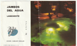 TICKET - ENTRADA / JAMEOS DEL AGUA - LANZAROTE - 199? - Tickets - Entradas