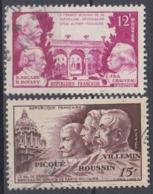 +France 1951. Hommage á La Médicine. Yvert 897-98. Cancelled - France