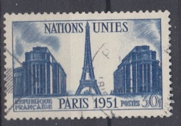 +France 1951. Nations Unies. Yvert 912. Cancelled - France