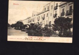 17869 - Marsala - Dettaglio Della Villa Felice Cavallotti (Trapani) F - Marsala