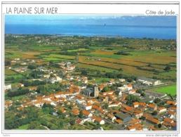 Carte Postale 44. La Plaine Sur Mer Vue D'avion Trés Beau Plan - La-Plaine-sur-Mer