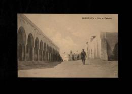 Cartolina  Posta Militare - Misurata Via Al Castello - Viaggiata - Militari