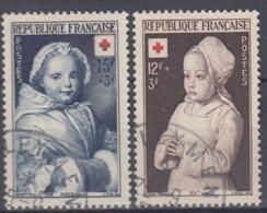 +France 1951. Croix Rouge. Yvert 914-15. Cancelled - France