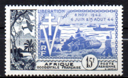 Col17  Colonie PA  AOF Afrique N° 17  Neuf X MH  Cote 10,00€ - Neufs