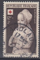 +France 1951. Croix Rouge. Yvert 914. Cancelled - France