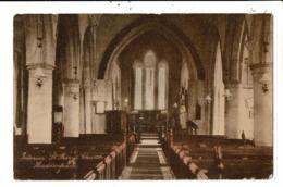 CPA-Carte Postale-Royaume Uni-Haddenham- Interior St Marys Church -1928 VM7351 - Buckinghamshire