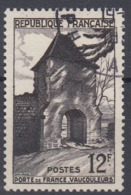 +France 1952. Vaucouleurs. Yvert 921. Cancelled - France