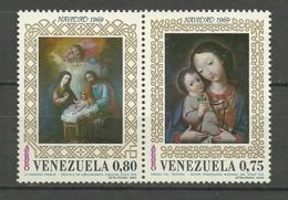 VENEZUELA 1969 Mi:VE 1812/3, Sg:VE 2100/1** - Venezuela