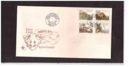 822   -  R.S.A.  1.12.1982    /   FDC  MICHEL NR. 622/625 + BL.14 - Fossils