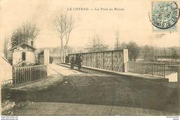 WW 42 LE COTEAU. Le Pont De Rhins 1905 état Impeccable - Francia