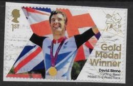 GROSSBRITANNIEN GRANDE BRETAGNE GB 2012 PARALYMPICS: CYCLING: ROAD MIXED T1-2 ROAD RACE 1 ST SG 3404 MI 3359 YT 3752 SC - 1952-.... (Elizabeth II)