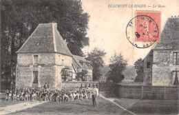 C P A 27] Eure > Beaumont-le-Roger Chasse à Courre Léquipage Rallye Paysage La Meute Le Hom - Beaumont-le-Roger