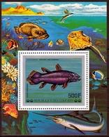 Komoren MiNr. Bl. 106 ** Fische Aus Dem Indischen Ozean - Komoren (1975-...)